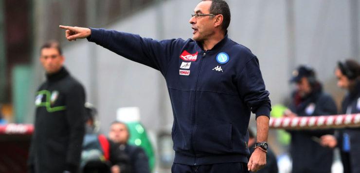 """Napoli-Fiorentina 0-0, Sarri: """"Prestazione confortante, Mertens non può riposare"""""""