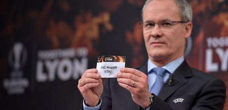 Sedicesimi Europa League: il Napoli pesca il Lipsia