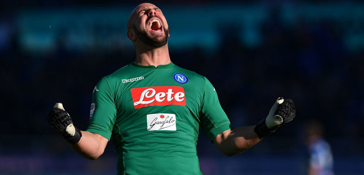 Super Reina: questa la migliore stagione del portiere del Napoli in Italia