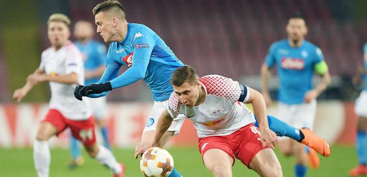 Napoli-Lipsia 1-3: azzurri con la testa al campionato, qualificazione compromessa