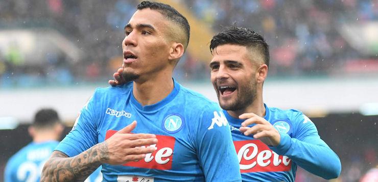 Napoli-SPAL 1-0: Allan suona la nona, azzurri restano in vetta
