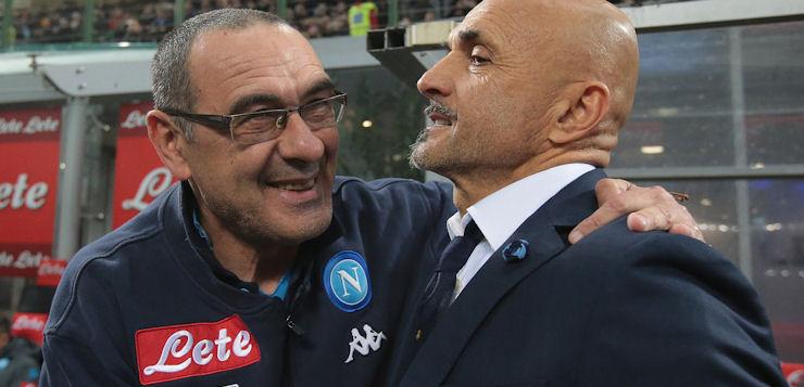 """Inter-Napoli 0-0, Sarri: """"Daremo il 101%, poi tireremo le somme"""""""