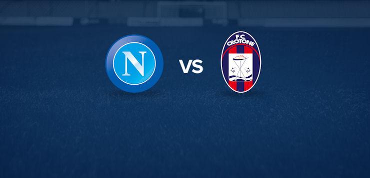 Napoli-Crotone: dove vedere la partita in tv e diretta streaming
