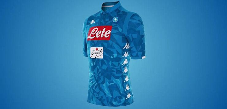 Napoli, svelata la nuova maglia: il tema richiama una pantera