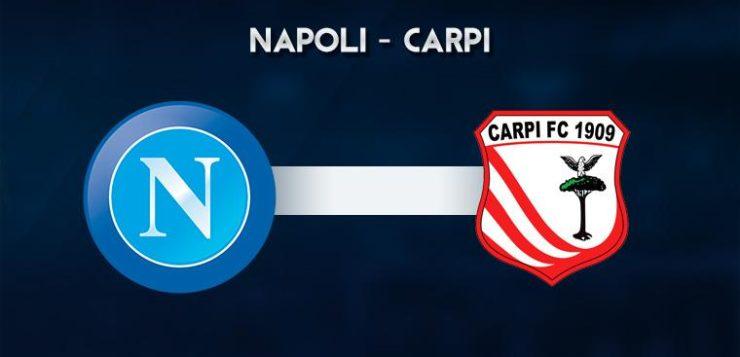 Napoli-Carpi: dove vedere la partita in tv e diretta streaming