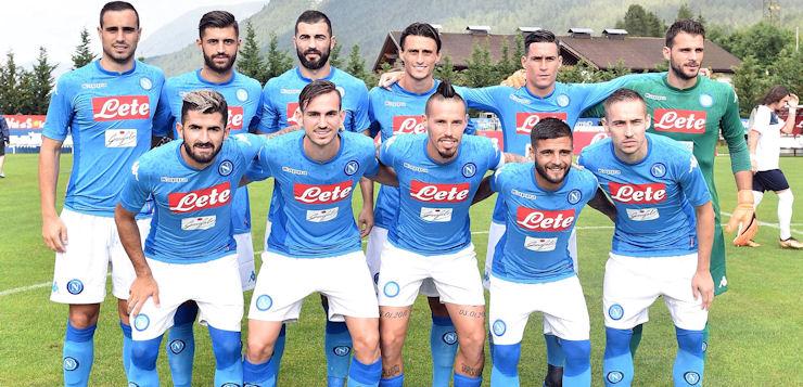 Napoli-Gozzano 4-0: goal Fabian Ruiz, poi Grassi, Verdi ed Ounas
