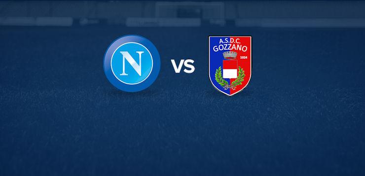 Napoli-Gozzano: dove vedere la partita in tv e diretta streaming