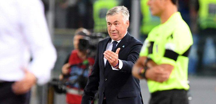 """Lazio-Napoli 1-2, Ancelotti: """"Migliorarsi sarà difficile ma non sono venuto qui per peggiorare la situazione: altrimenti sarei rimasto a casa"""""""