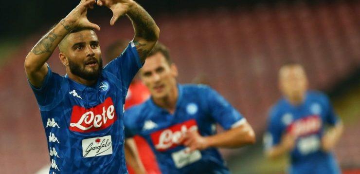 Napoli-Fiorentina 1-0: vittoria azzurra, risolve Insigne