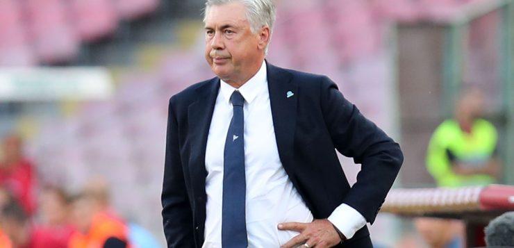 """Napoli-Fiorentina 1-0, Ancelotti: """"A Genova solo un raffreddore"""""""