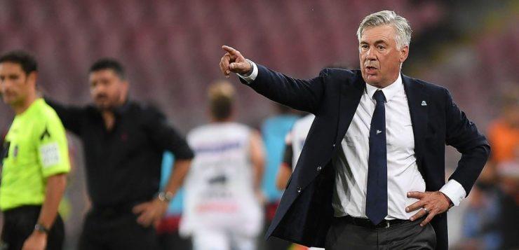 """Stella Rossa-Napoli, Ancelotti: """"Voglio un Napoli con tante identità"""""""