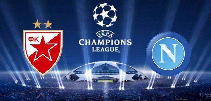 Stella Rossa-Napoli: dove vedere la partita in tv e diretta streaming