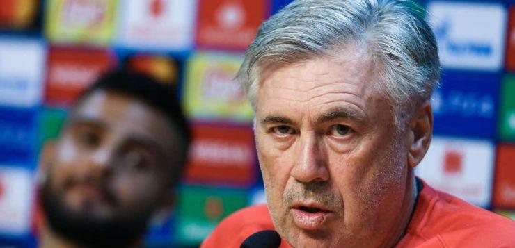 """Udinese-Napoli, Ancelotti: """"Insigne ha un problema, lavorerà per tornare con il PSG"""" [Video]"""