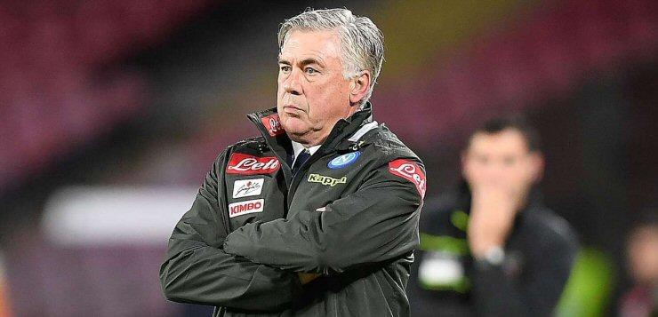 """Napoli-Frosinone 4-0, Ancelotti sulla partita col Liverpool: """"All'Anfield senza bus davanti alla porta"""""""