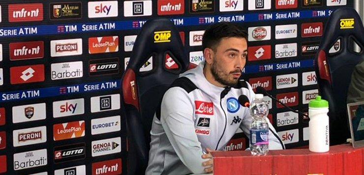"""Genoa-Napoli 1-2, Davide Ancelotti: """"Bravi ad affrontare anche la pioggia"""""""