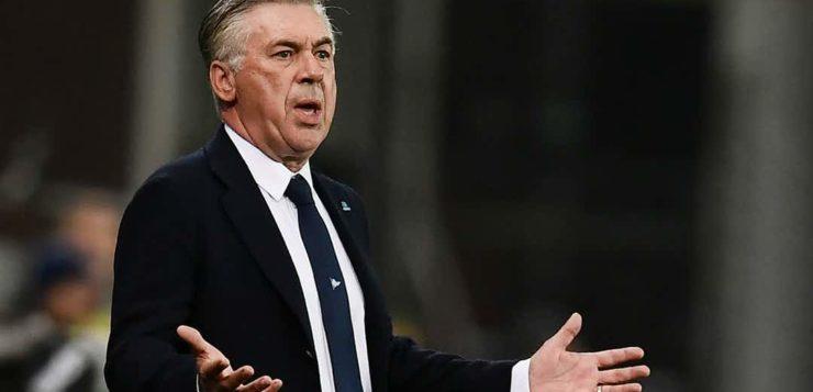 """Napoli, Ancelotti: """"Campionato o Coppa? Vincerli è nelle nostre corde"""""""