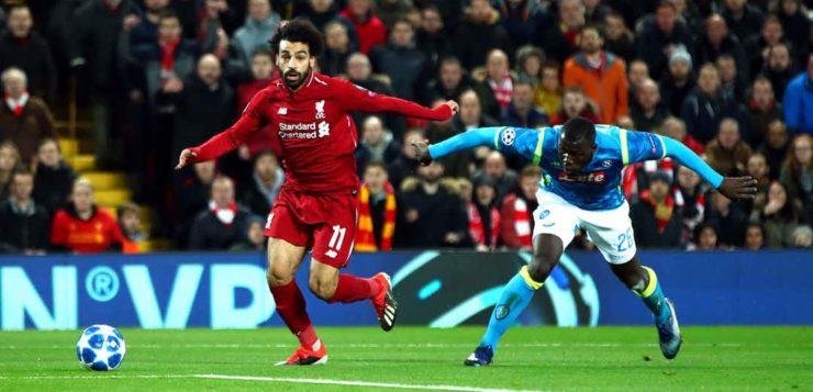 Liverpool-Napoli 1-0: goal Salah, azzurri poco concreti