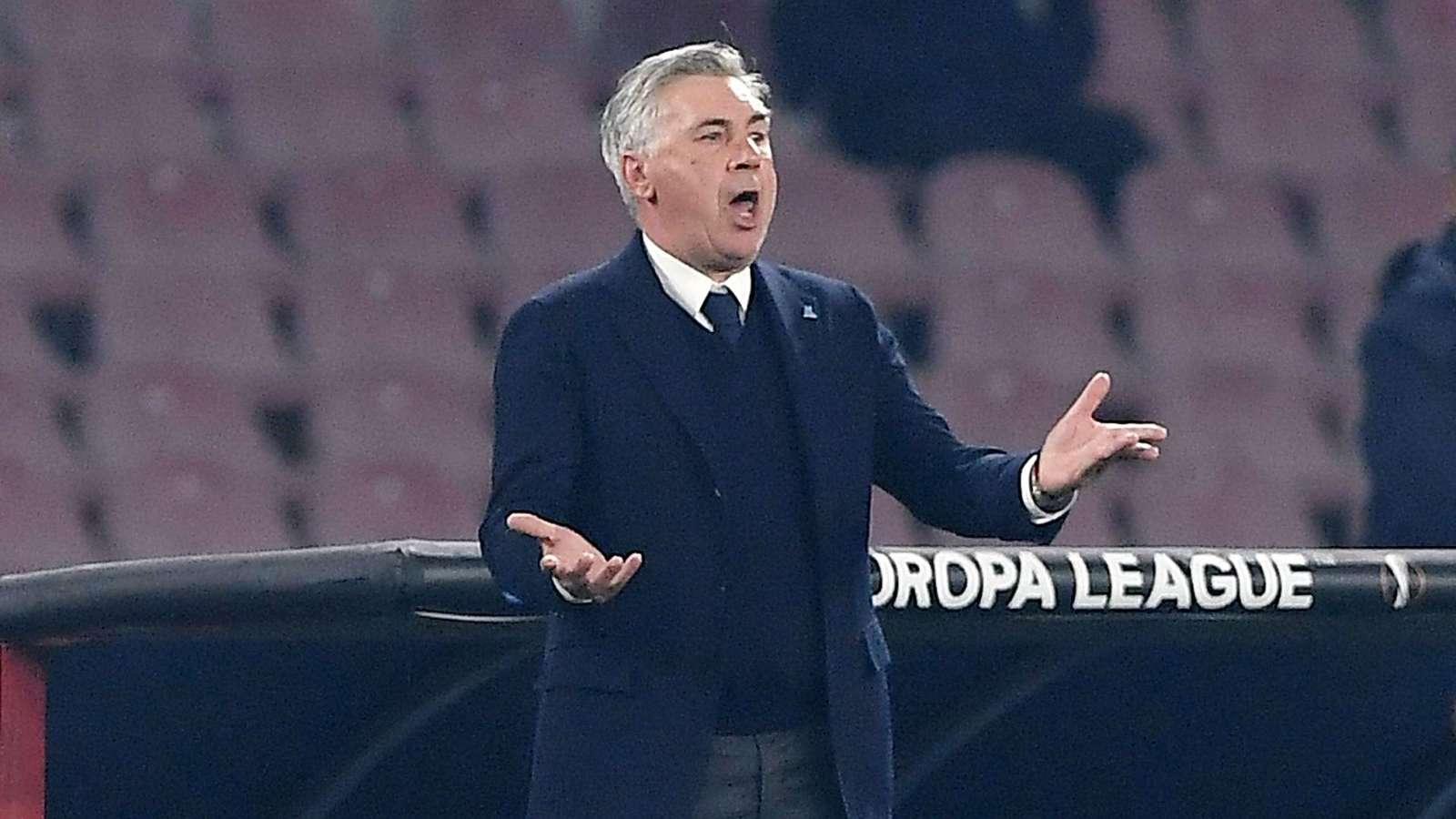 """Arsenal-Napoli 2-0, Ancelotti: """"Loro non sono impenetrabili, le misure le abbiamo prese"""""""