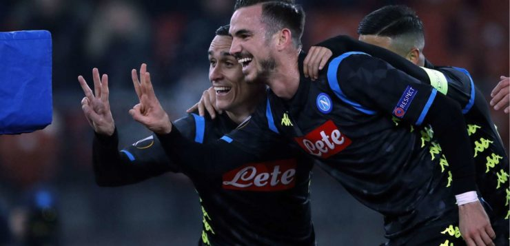 Zurigo-Napoli 1-3, tris azzurro: ipotecati gli ottavi