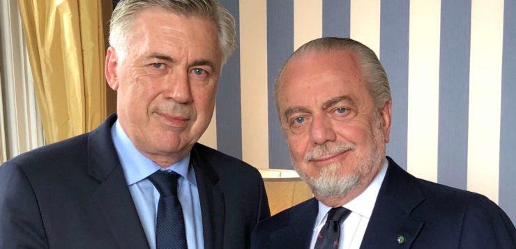 Calciomercato Napoli, Ancelotti blindato: esercitata la clausola per il rinnovo