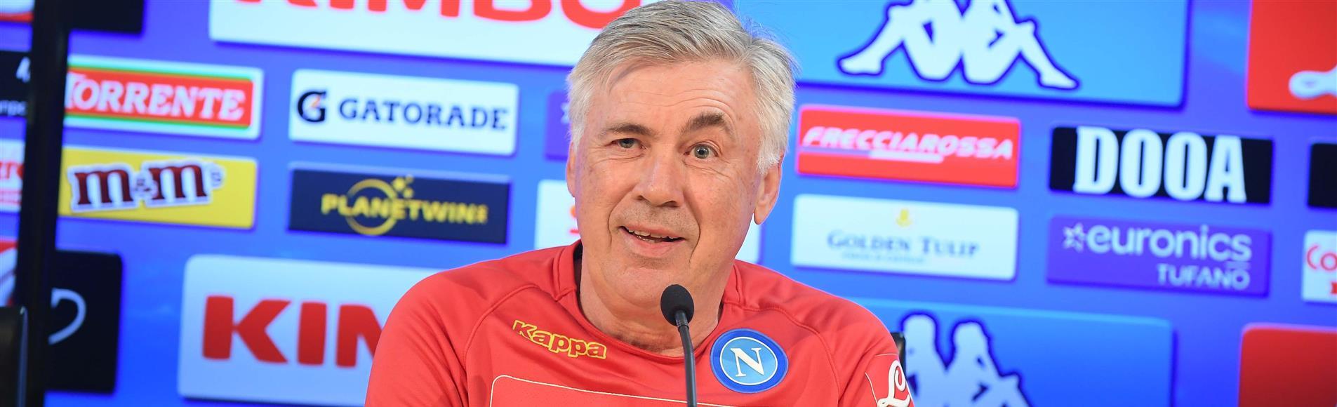 """Roma-Napoli, Ancelotti: """"Partita importantissima, mi aspetto una grande prestazione"""""""