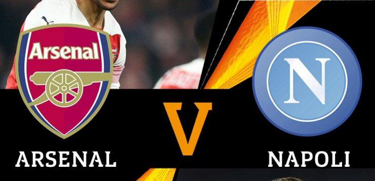 Sorteggio quarti Europa League: il Napoli pesca l'Arsenal