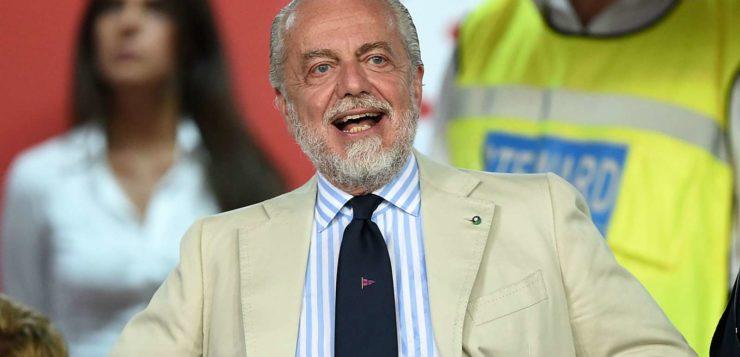 """Napoli, De Laurentiis: """"Abbiamo capito chi è utile per il gioco di Ancelotti e chi invece no"""""""
