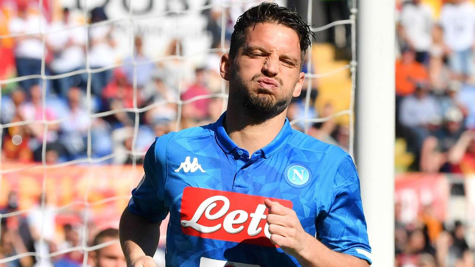 """Roma-Napoli 1-4, infortunio Mertens: """"Problema al ginocchio ma sto bene"""" - NAPOLI CALCIO"""