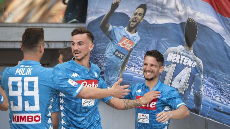 Roma-Napoli 1-4: gli azzurri passeggiano sulle macerie giallorosse