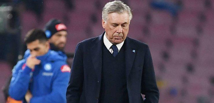 """Napoli-Udinese, Ancelotti deluso in parte: """"Doppio vantaggio non meritato"""""""