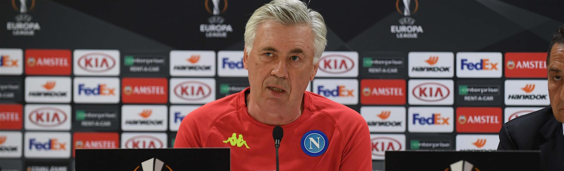 """Arsenal-Napoli, Ancelotti: """"Non è una gara decisiva, ma indirizzerà il confronto"""" - NAPOLI CALCIO"""