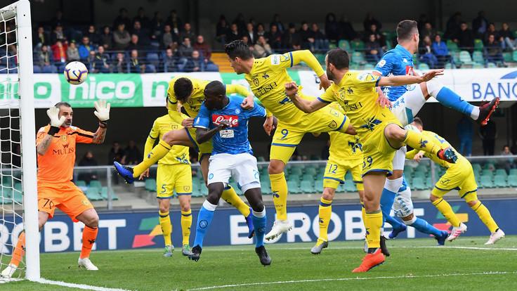 Chievo-Napoli 1-3: Koulibaly e Milik mandano i veronesi in serie B - NAPOLI CALCIO