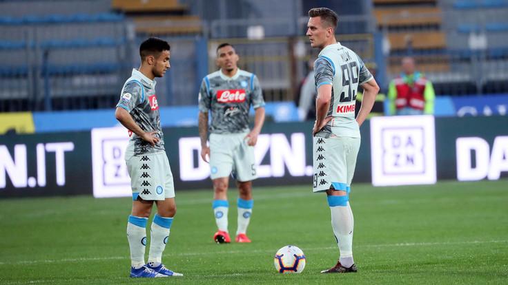 Empoli-Napoli 2-1: azzurri con la testa altrove - NAPOLI CALCIO