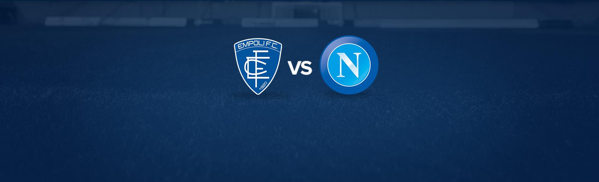 Empoli-Napoli: dove vedere la partita in tv e diretta streaming