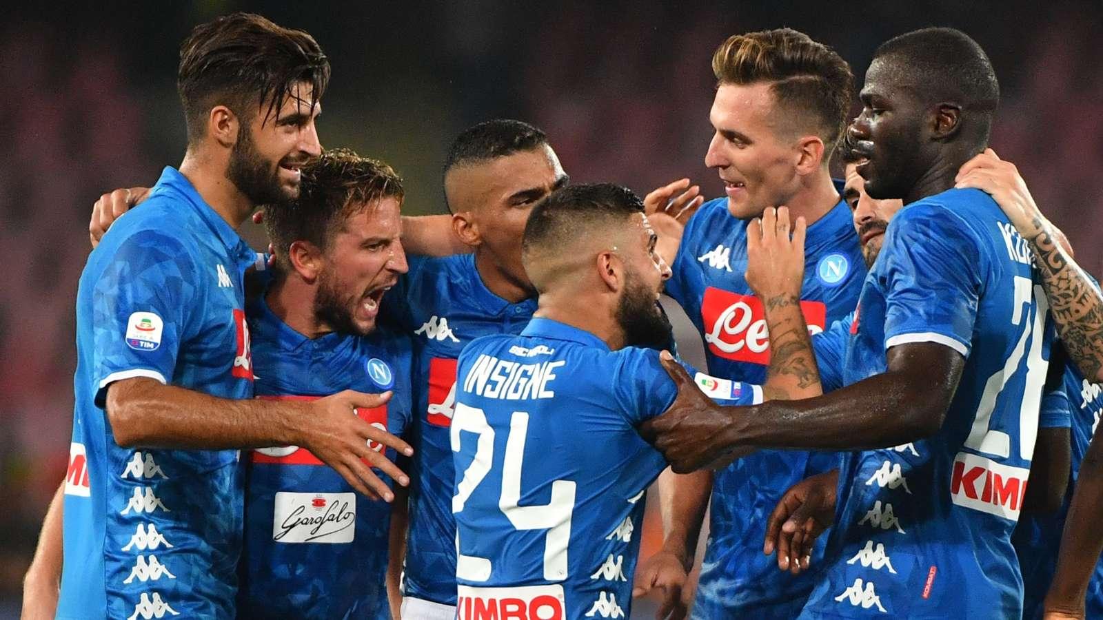 Napoli-Arsenal, Ancelotti super offensivo: Milik con Mertens e Insigne, fuori Fabian Ruiz - NAPOLI CALCIO