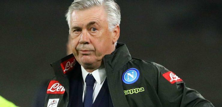 """Napoli-Inter 4-1, Ancelotti: """"Stiamo ritrovando la nostra qualità"""""""