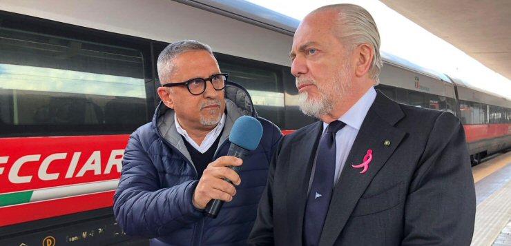 """De Laurentiis: """"Grazie Ancelotti, con Sarri fare mercato era difficile. Poi su Insigne…"""""""