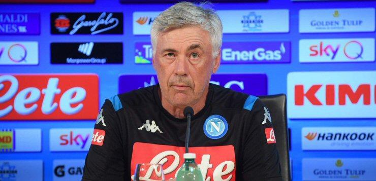 """Napoli-Sampdoria, Ancelotti: """"Milik e Insigne a disposizione, Llorente può giocare"""""""