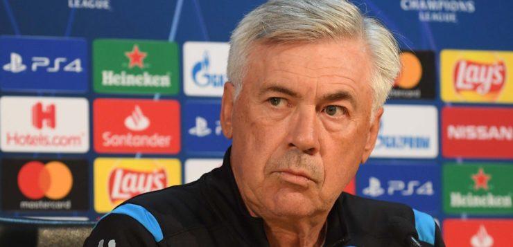 """Napoli-Liverpool, Ancelotti: """"Affrontiamo i più forti d'Europa"""""""