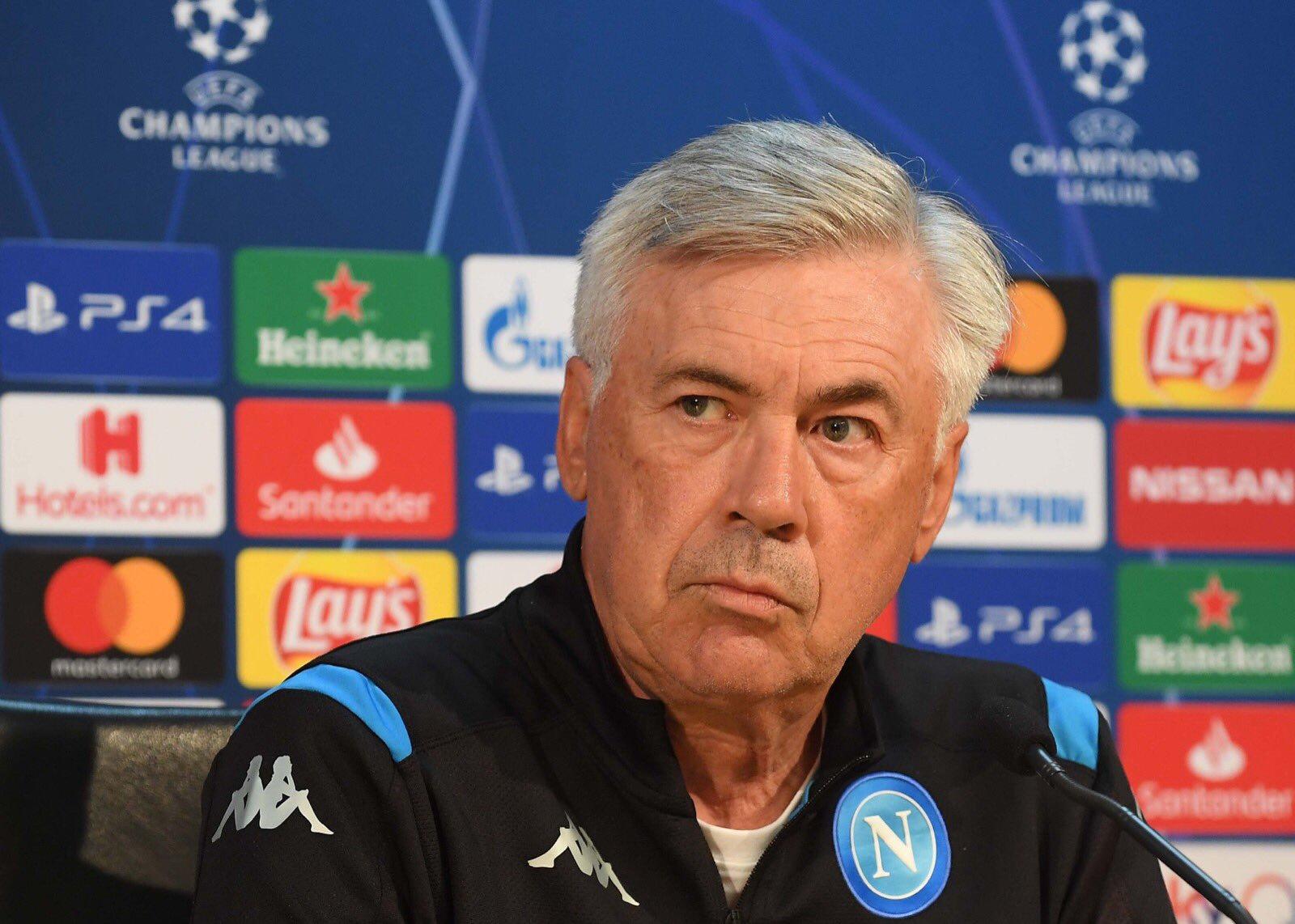 """Napoli-Liverpool, Ancelotti: """"Affrontiamo i più forti d'Europa"""" - NAPOLI CALCIO"""