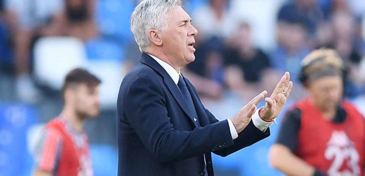 """Napoli, Ancelotti: """"Insigne importante, vogliamo tenere Callejon e Mertens"""""""