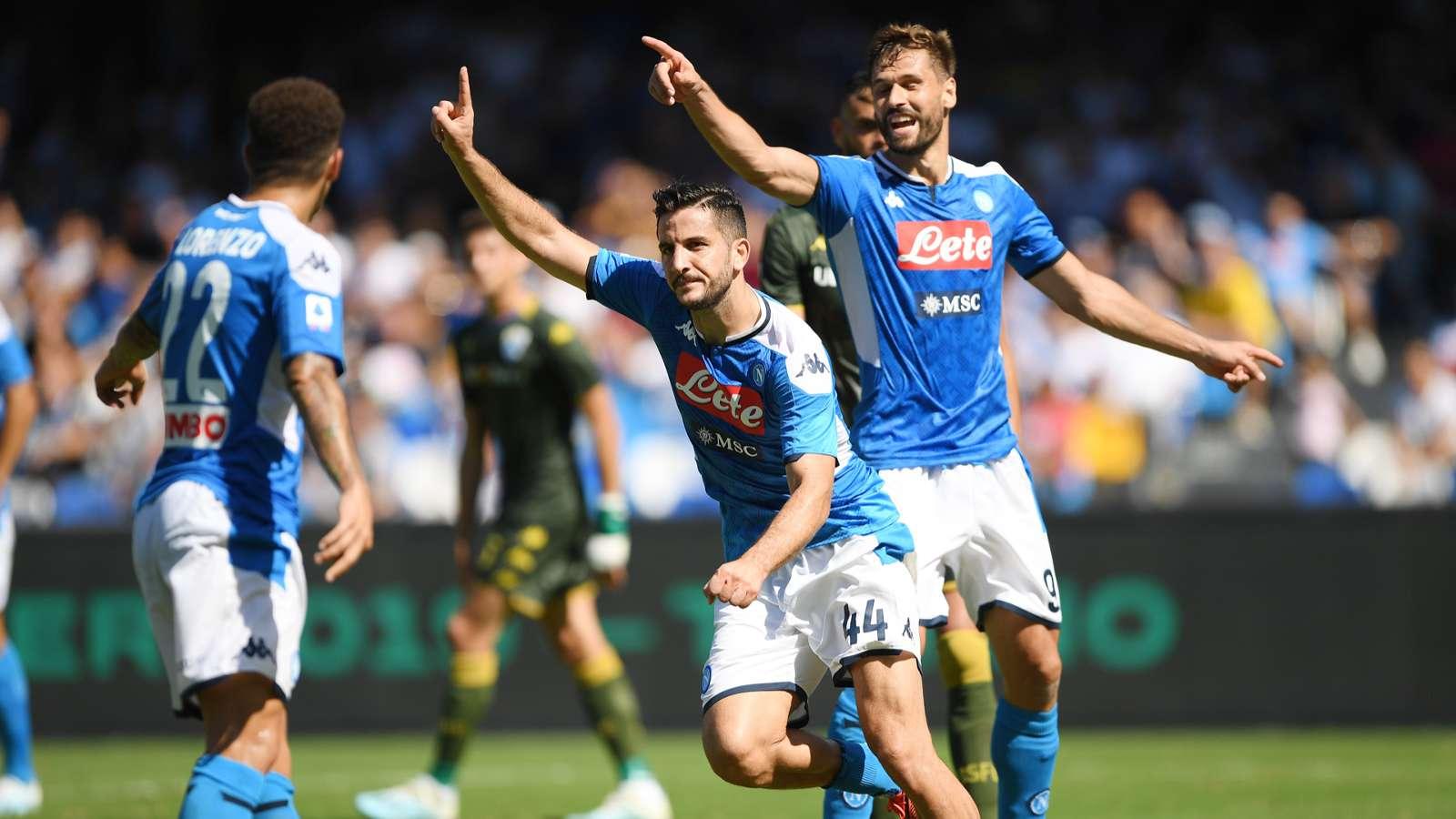Napoli-Brescia 2-1: gli azzurri ritrovano la vittoria ma è emergenza difesa - NAPOLI CALCIO
