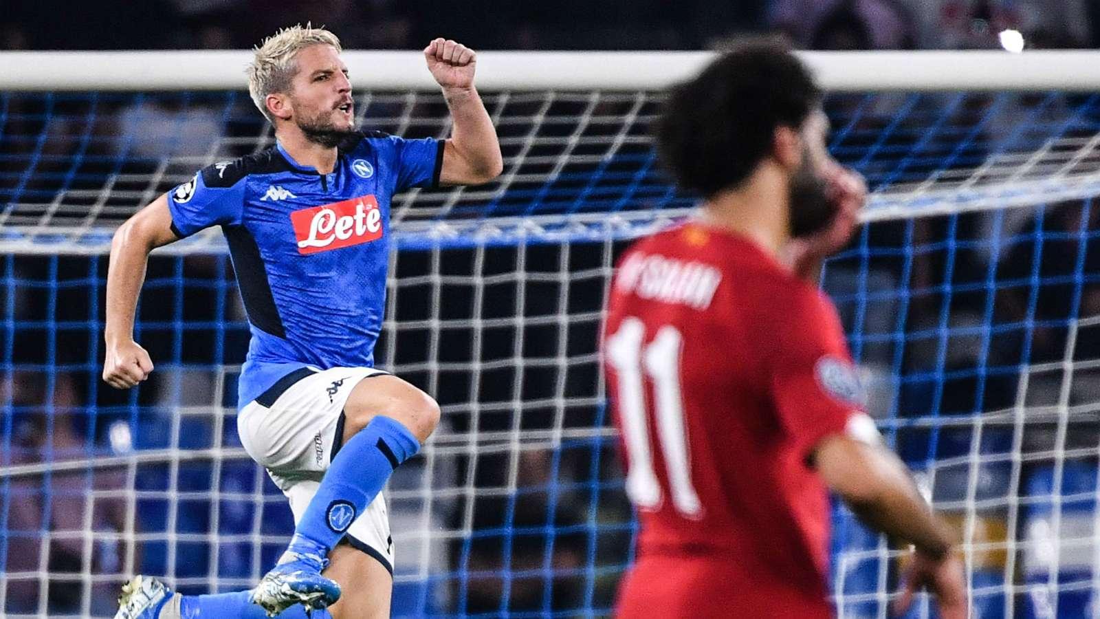 Napoli-Liverpool 2-0: Mertens e Llorente stendono i campioni al San Paolo - NAPOLI CALCIO
