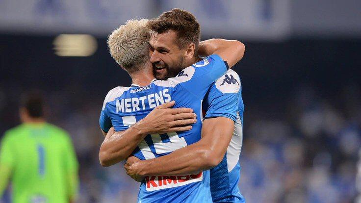Napoli-Sampdoria 2-0: doppietta Mertens, brilla Elmas - NAPOLI CALCIO