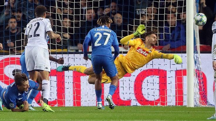 Genk-Napoli 0-0, gli azzurri non sfondano: è parità in Belgio - NAPOLI CALCIO