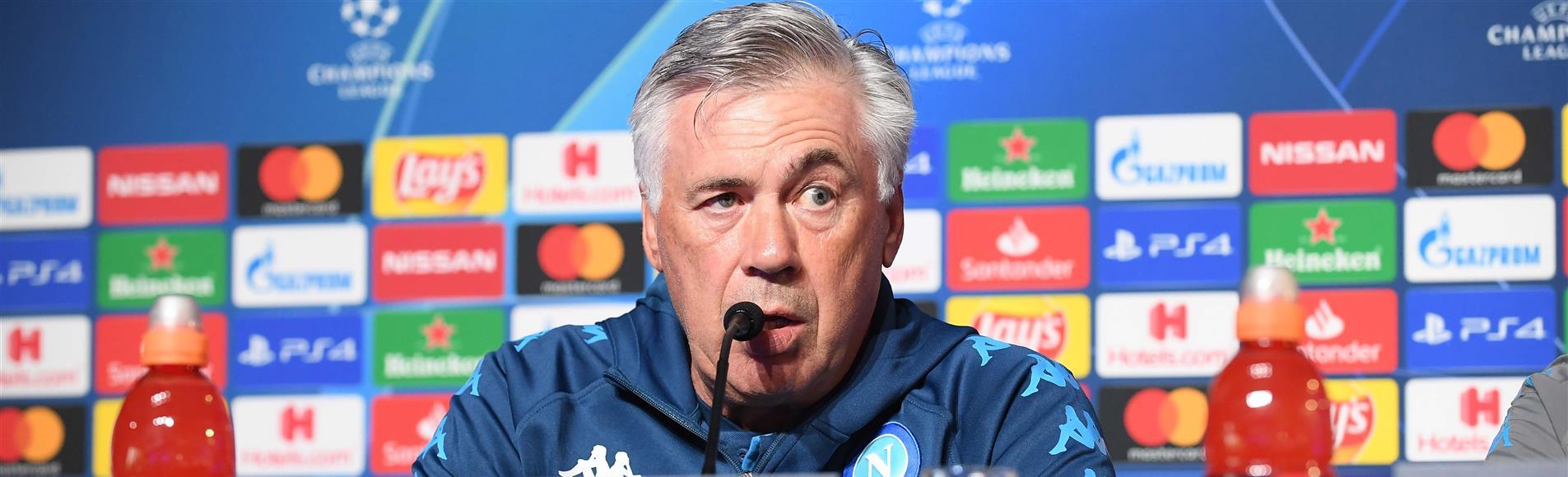 """Genk-Napoli, Ancelotti avverte: """"Ci sarà da soffrire"""" - NAPOLI CALCIO"""
