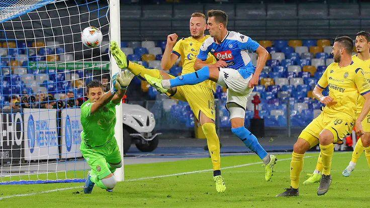 Napoli-Verona 2-0, doppietta Milik: gli azzurri tornano a vincere - NAPOLI CALCIO