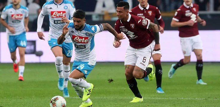 Torino-Napoli: gli azzurri deconcentrati ottengono solo un pareggio
