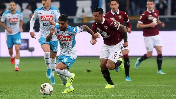 Torino-Napoli: gli azzurri deconcentrati ottengono solo un pareggio - NAPOLI CALCIO