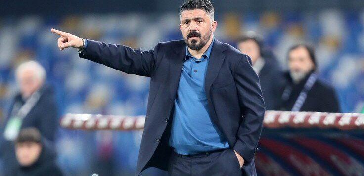 """Napoli-Fiorentina 0-2, Gattuso: """"Siamo stati imbarazzanti, chiediamo scusa ai tifosi"""""""